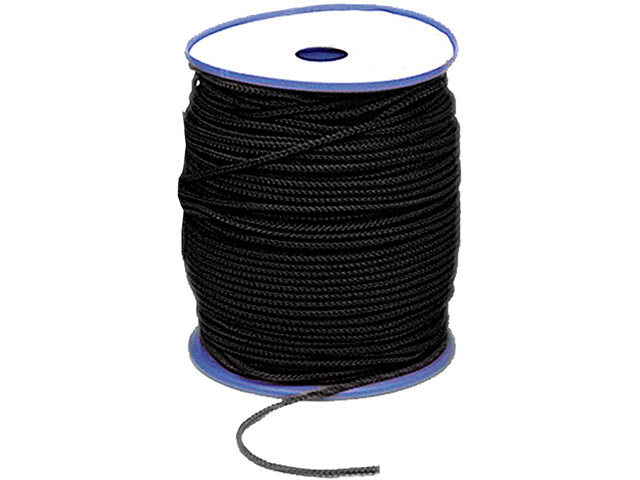 Relags Ropes 4 mm en rollo de 200 m, black